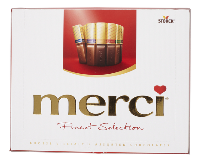 Merci chocolade finest selection mix 250g