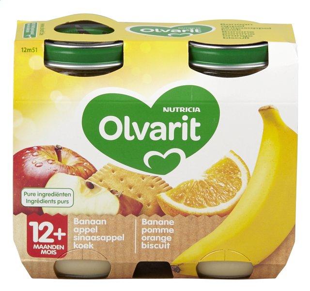 Banaan-appel-sinaasappel-koek +12M 200gx2