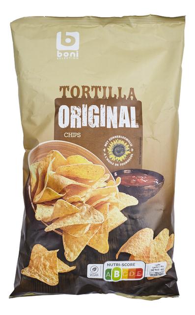 Tortilla chips natuur 200g