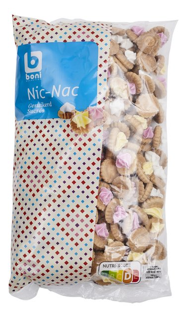 Nic-Nac met suiker 500g