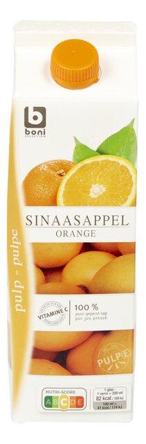 Sinaasappelsap vers pulp 1L