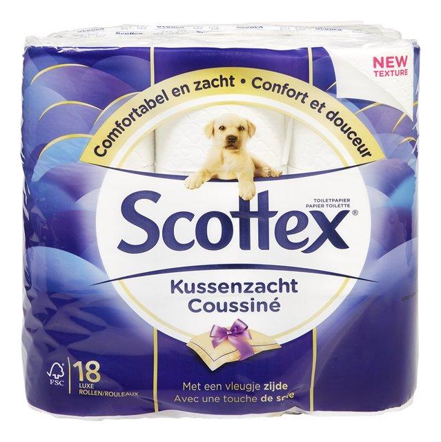 Toiletpapier kussenzacht 3l 135v 18r