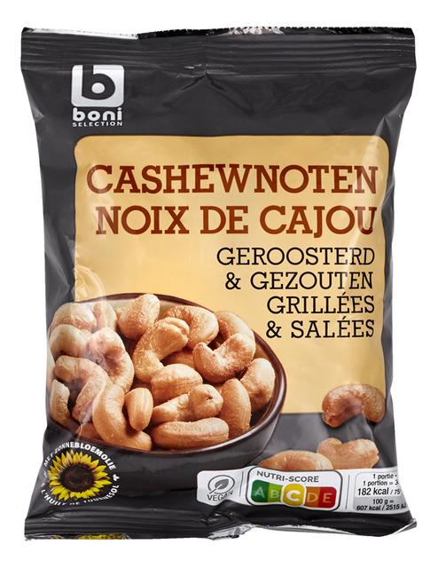 Gezouten cashewnoten 200g