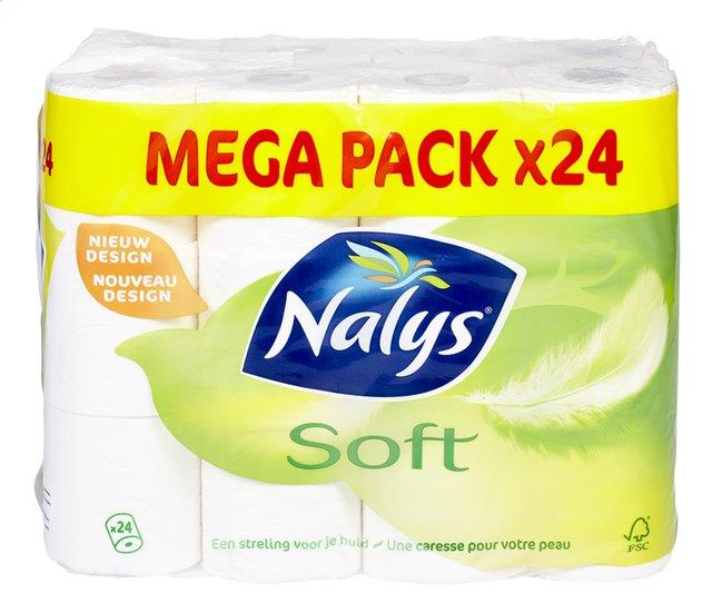 Toiletpapier Soft 2L 139v 24 rollen