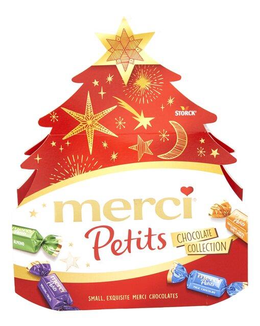 Chocolade kleine kerstbomen 150g