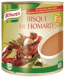 Bisque de homard (4,8L) 2,4kg