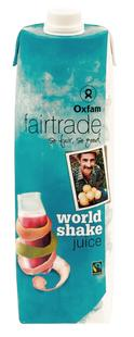 Jus worldshake Fairtrade 1L
