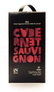 Caberbet Sauvignon rouge Fairtrade 3L
