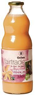 Sinaasappel-mangosap BIO Fairtrade SG 1Lx6