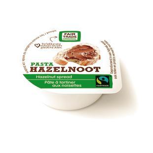 Hazelnootpasta Fairtrade 15gx80