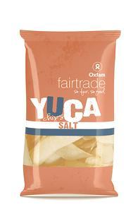 Yucachips zout Fairtrade 50g