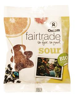 Zure gummibeertjes BIO Fairtrade 100g