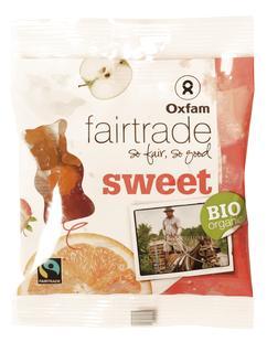 Gommes de fruits oursons BIO Fairtrade 100g