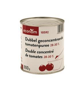 Double concentré de tomates PN 800g