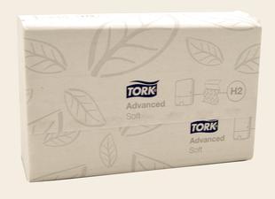 Handdoek soft multifold x136 vellen