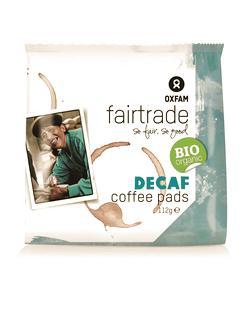 Pads de café décaféiné BIO Fairtrade 16pièces 112g