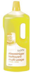 Nettoyant multi-usage citron 2L