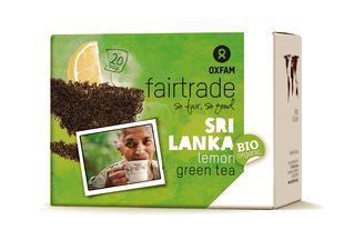Thé vert citron BIO Fairtrade 1,8gx20