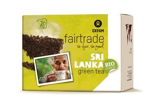 Thé vert BIO Fairtrade 1,8gx20