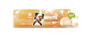 Chocolat blanc BIO Fairtrade 50g