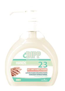 Lotion mains desinfectante HY1067 500ml (N°23)