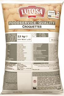 Aardappelkroketten 2,5kg