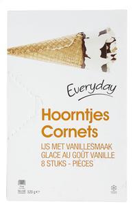Cornets vanille 120mlx8