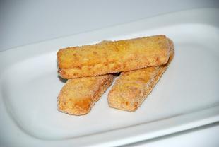 Fishsticks de colin d'Alas.MSC sans gluten 30g 3kg