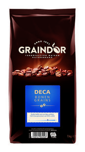 Koffiebonen decaf 1kg