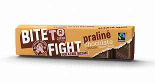 Chocolat au lait praliné FT Bite To Fight 48g
