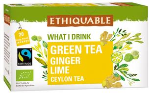 Thé vert gingembre citron BIO FT 20sachets 1,8g