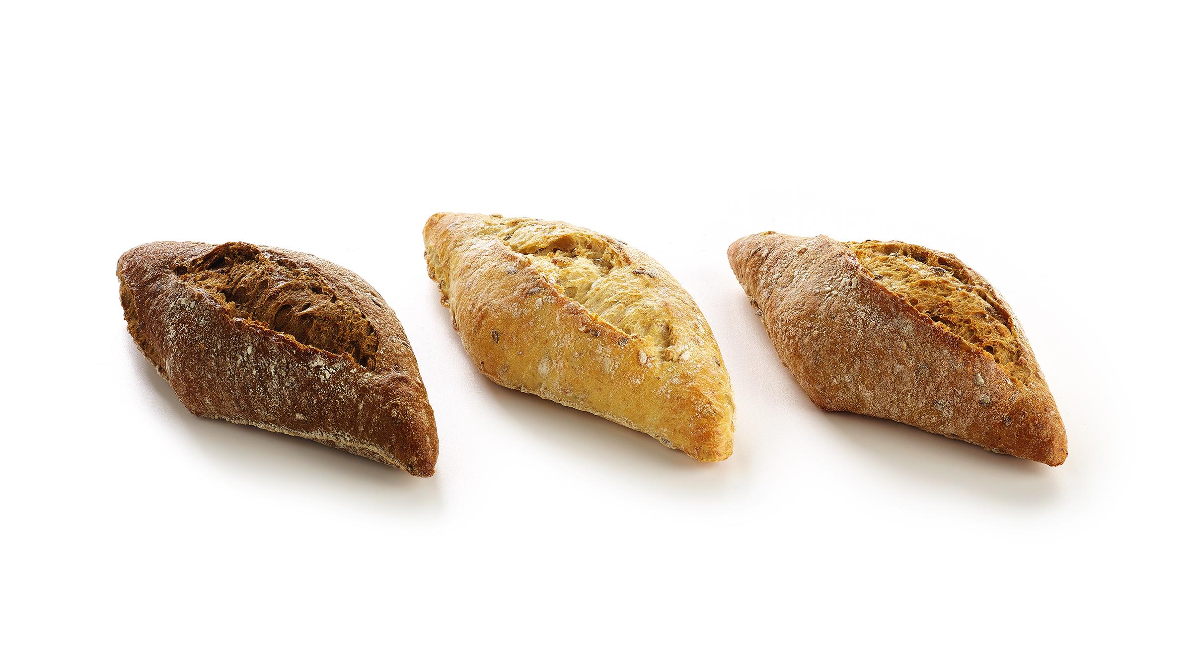 Assortiment meergranenbroodjes (5000795) 80gx60